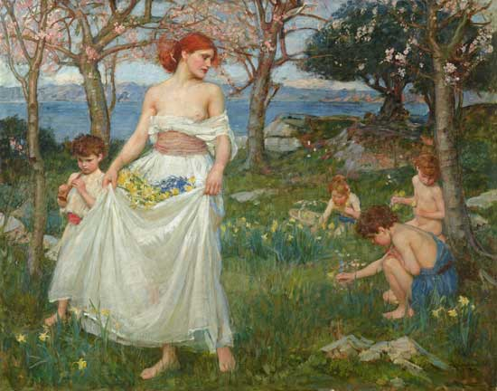 a-song-of-springtime-waterhouse-l