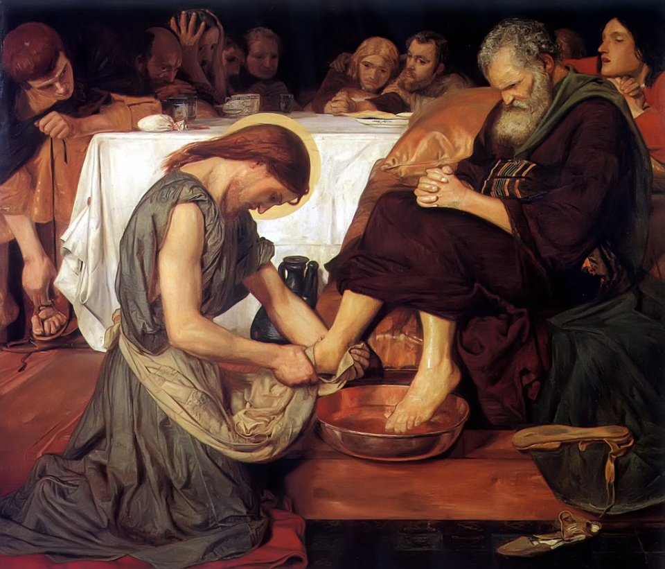 Christ Washing Peter's Feet, Ford Madox Brown