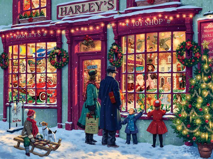 82fc043279dc02335cc4b640f6f55785-christmas-scenes-christmas-windows